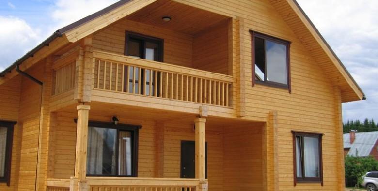 Дачные дома из бруса: достоинства и недостатки